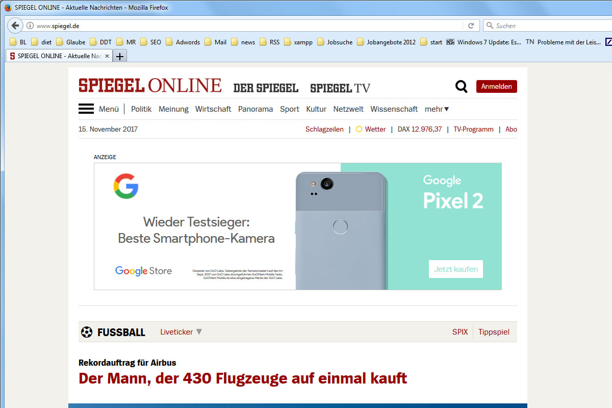 Firefox Quantum Tabs unten – Firefox 57 anpassen mit CSS - reussmedia